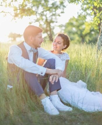 Le mariage champêtre et en baskets de Fady et Gabriel