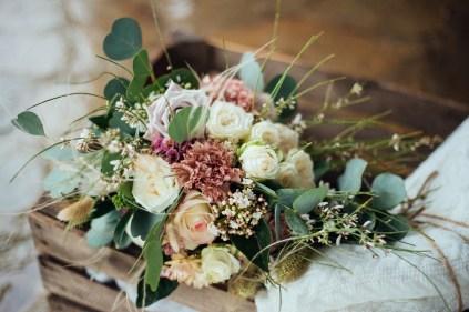 Bouquet de mariée eco-responsable