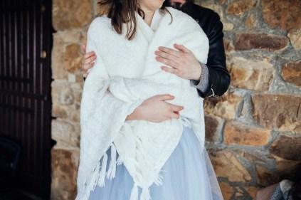 mariée en plaid