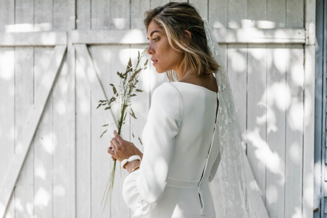 Lorafolk Collection 2019 Robe de mariée Colombine