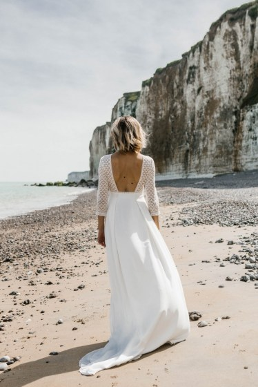 Lorafolk Collection 2019 Robe de mariée Madeleine