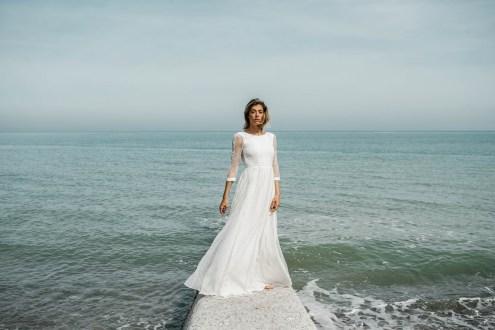 Lorafolk Collection 2019 Robe de mariée Lucienne