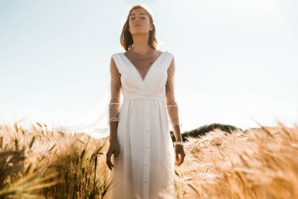Lorafolk Collection 2019 Robe de mariée Marcelle