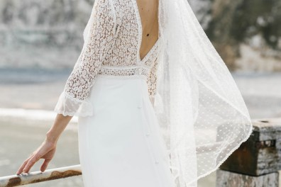 Lorafolk Collection 2019 Robe de mariée Pierrette