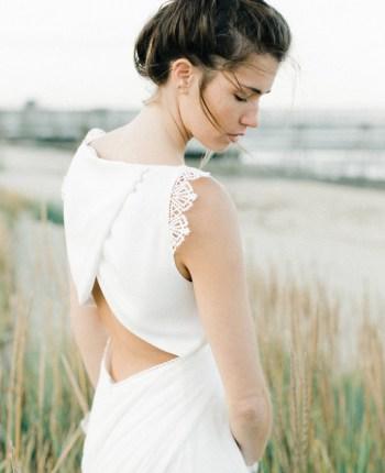 Les robes de mariée de la créatrice nantaise Kamélion Couture