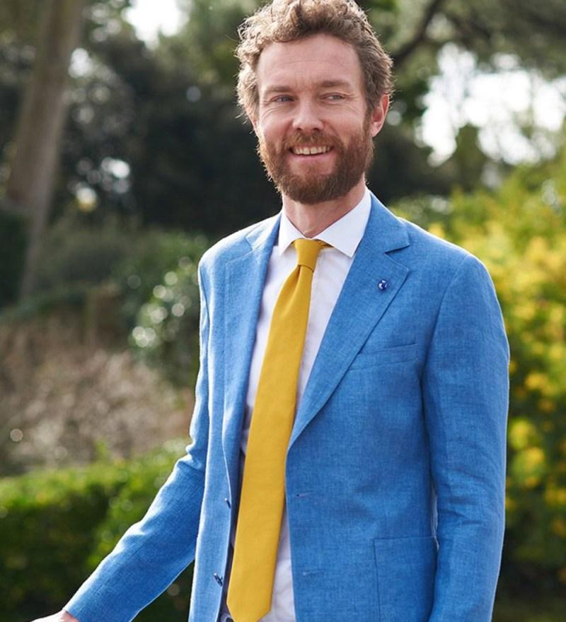 accessoires-du-marié-the-nines-cravate-moutarde