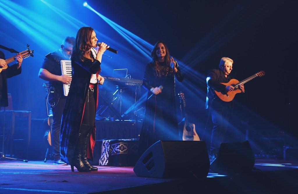 Soledad y Natalia Pastorutti en Chile