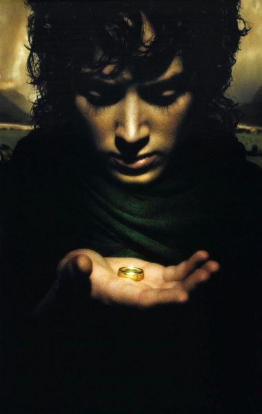 El senor de los anillos Frondo con el anillo POSTER