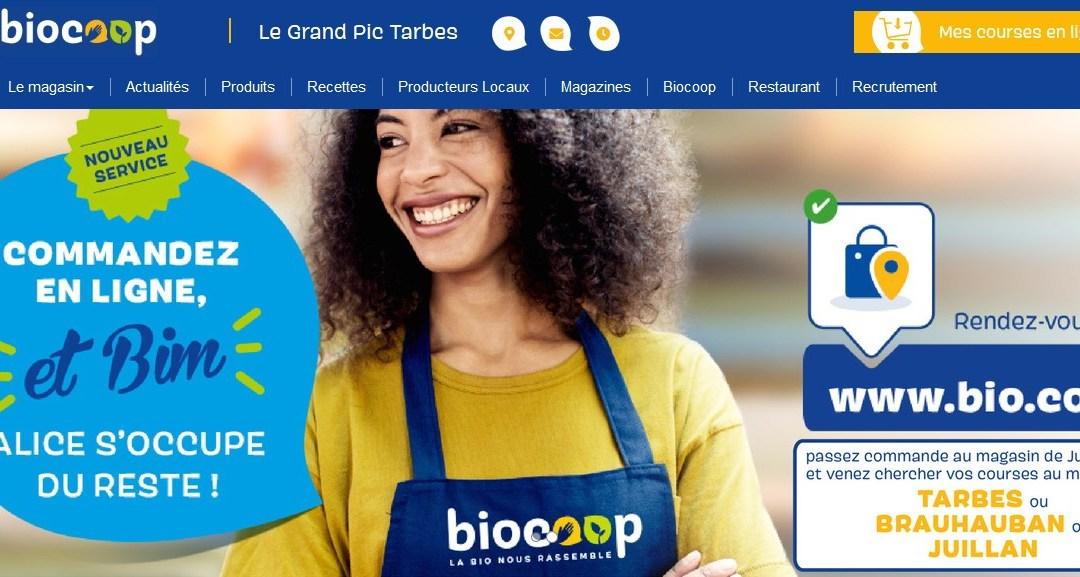 La Sonnante,  a fait son entrée dans les 3 magasins biocoops Le grand Pic