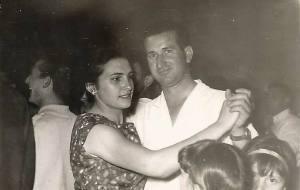 Bailando en pareja en Las Pedrosas