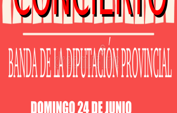 Concierto banda diputación provincial de Zaragoza en Las Pedrosas