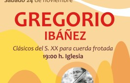 Concierto Gregorio Ibáñez Las Pedrosas