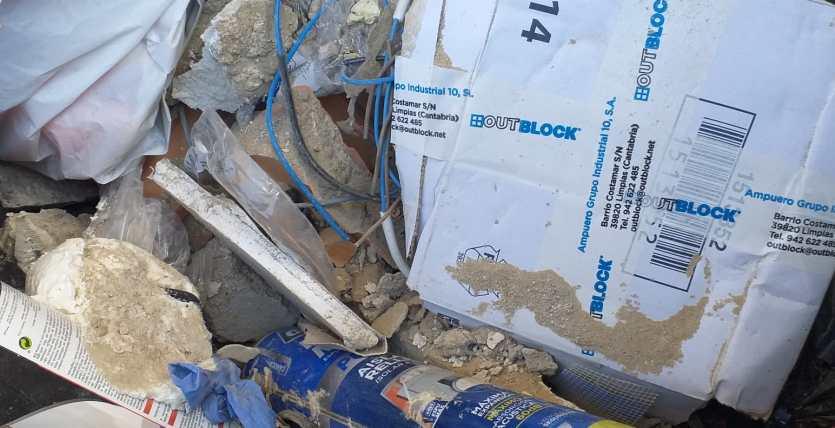 Escombros y punto limpio