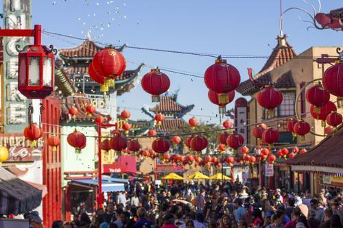 Celebrate the Chinese New Year with Traditional Treats in Los     L A s historic Chinatown