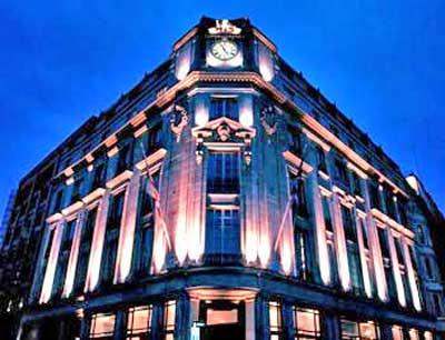 The Trafalgar Hilton Hotel in London