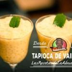 Tapioca de Vinilla
