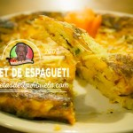 Omelet de Espagueti - Las Recetas de La Abuela