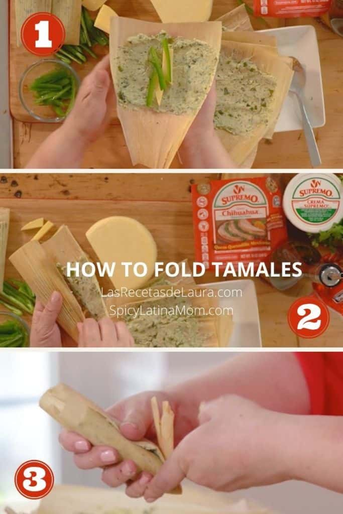 How to fold tamales