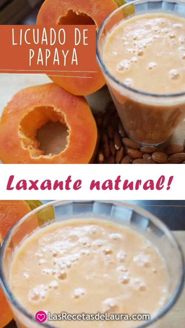 licuados de papaya para perder peso