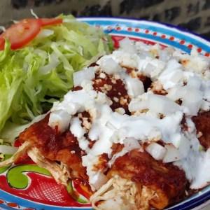 Enchiladas Rojas   Las Recetas de Laura