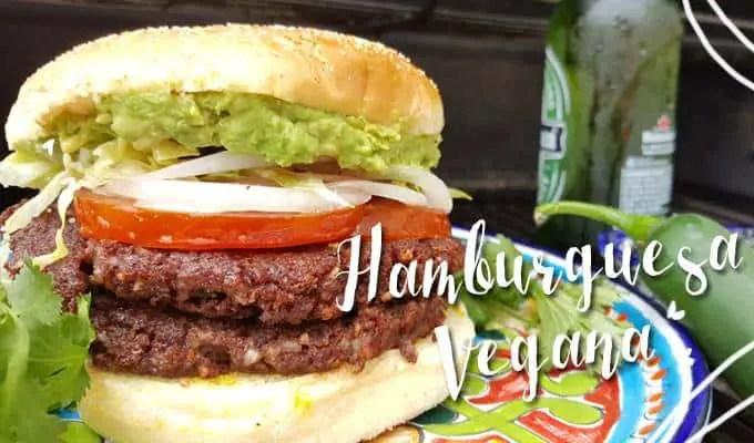 hamburguesa vegetarianas - las recetas de laura