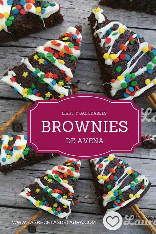 Brownies de Avena Saludables | Las Recetas de Laura
