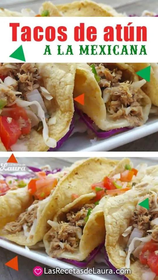 Tacos de Atun Mexicanos | Las Recetas de Laura