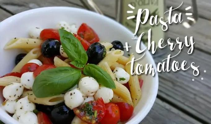Pasta con cherry tomatoes | Las recetas de Laura