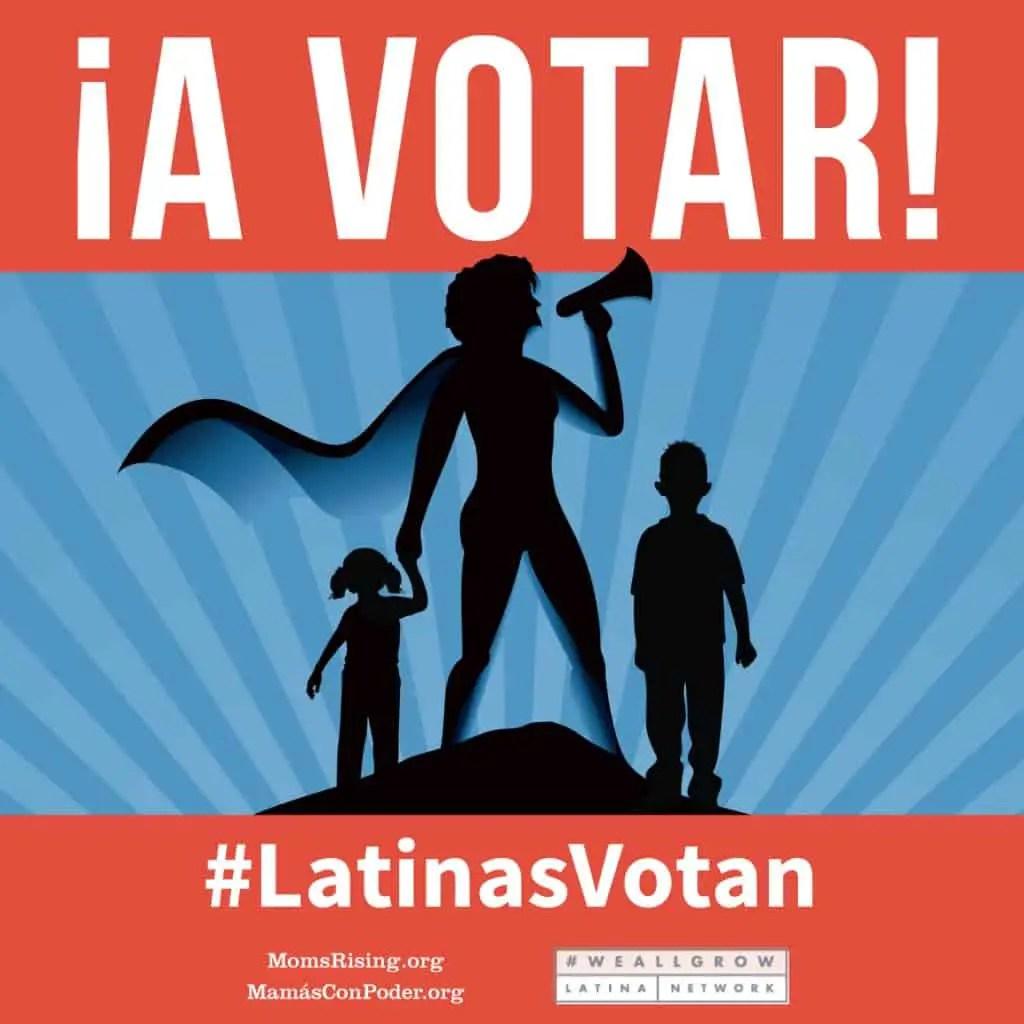 Latinas Votan | Las Recetas de Laura