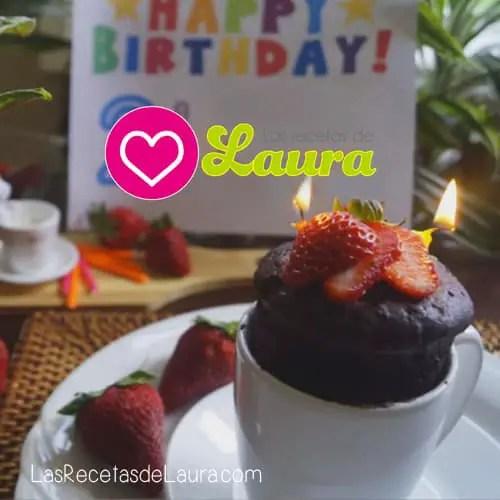 Pastel en microondas | Las recetas de Laura