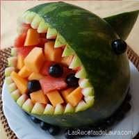 tiburón de sandia | las recetas de laura