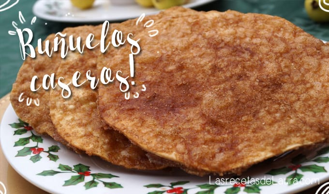 Buñuelos Caseros sin Freír | Las Recetas de Laura
