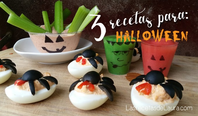 Botanas de Halloween Saludables