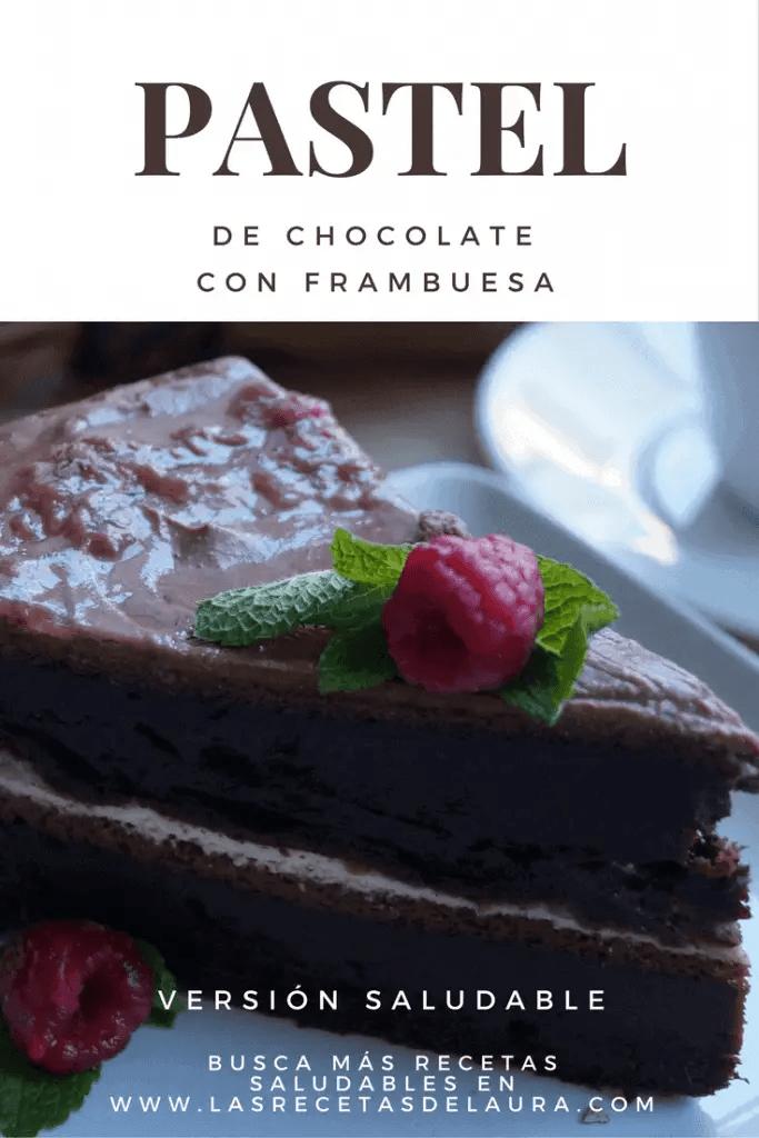 Pastel Saludable de Chocolate | Las Recetas de Laura