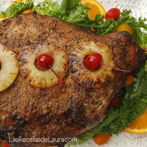 Pierna al horno   Las recetas de Laura
