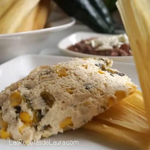 Tamales saludables - las recetas de Laura