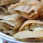 Tamales rellenos de queso - Las recetas de Laura