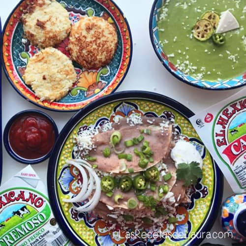 Quesos y Productos marca El Mexicano® | Las Recetas de Laura