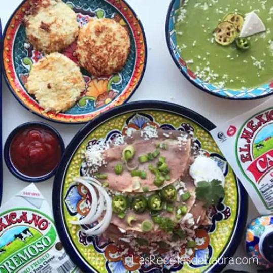 3 Cenas Saludables con Quesos y Productos marca El Mexicano ® | Las Recetas de Laura