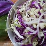 Ensalada de repollo con pepino | Las recetas de Laura