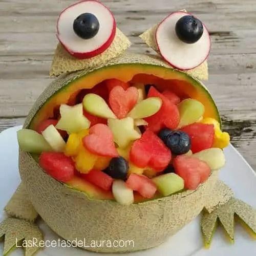 Arreglo frutal - las recetas de Laura