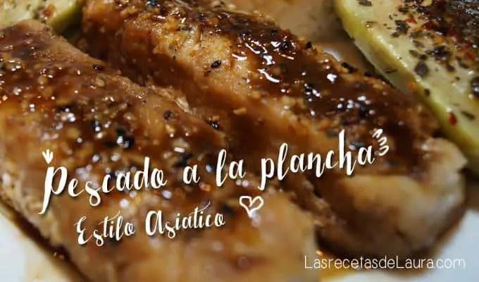pescado a la plancha - las recetas de Laura