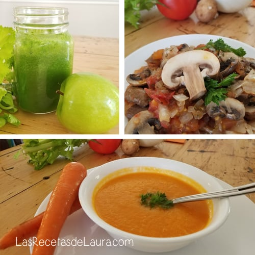Sustitutos de ensaladas - las recetas de Laura