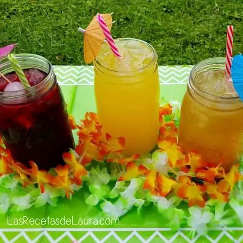 Aguas frescas - las recetas de Laura