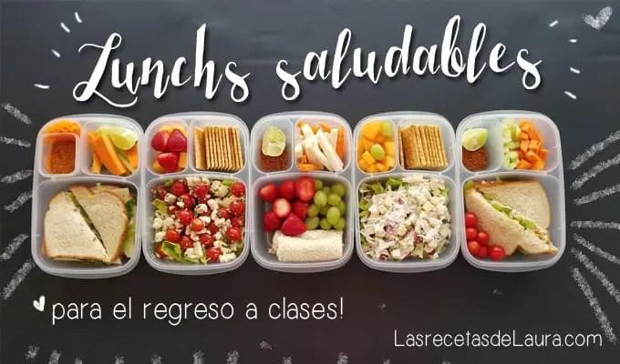 Lunch para los niños - las recetas de Laura