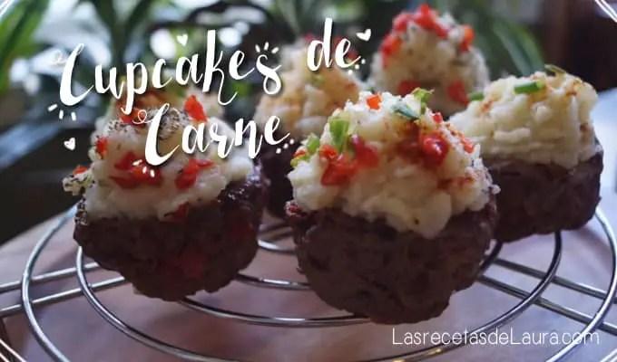Cupcakes de carne - Las recetas de Laura