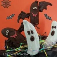 Vampiros y fantasmas con chocolate - Las recetas de Laura