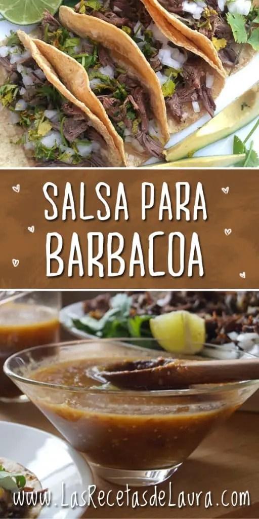 Salsa para barbacoa - Las recetas de Laura