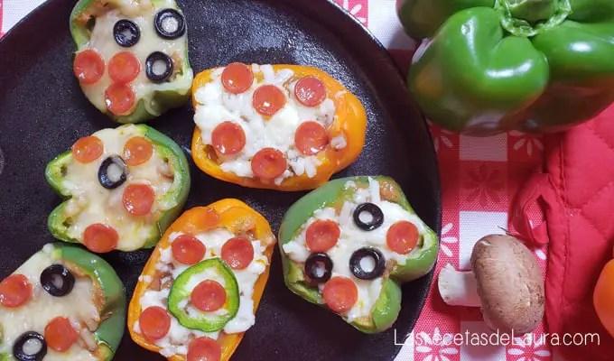 Pizzas sin harina - las recetas de Laura
