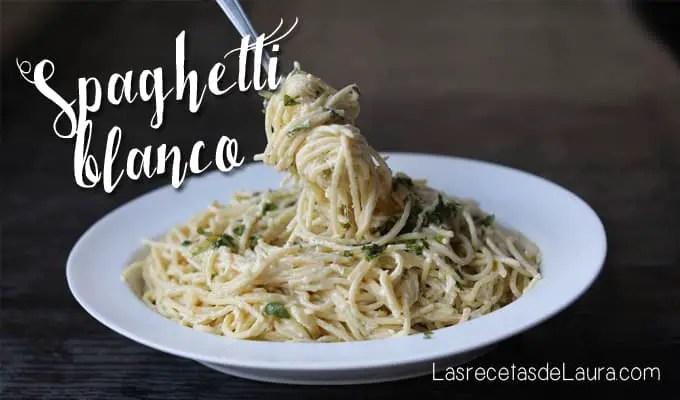Spaghetti con crema